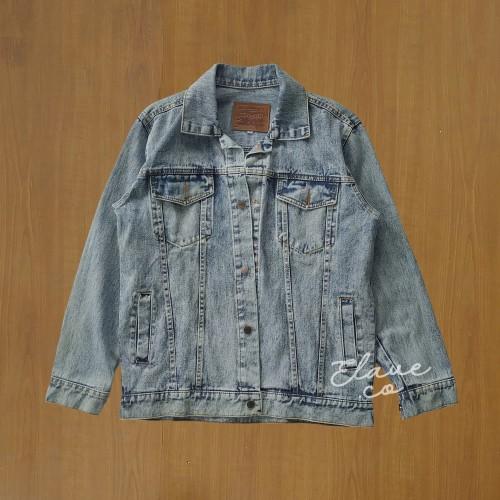 Foto Produk Jaket jeans levis / Trucker jacket washing biru muda - Biru Muda, XL dari Skate Surf Store