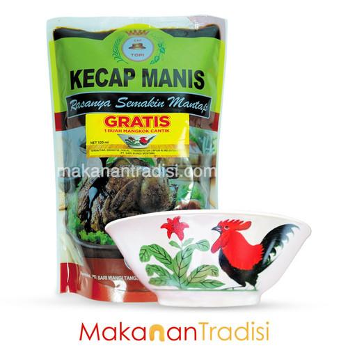 Foto Produk Kecap Manis Topi Kuning 520 ml dari Makanan Tradisi Id