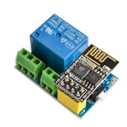 Foto Produk New Modul Relay Remote Control WiFi Smart ESP8266 5V APP ESP-01 dari RAFTECH