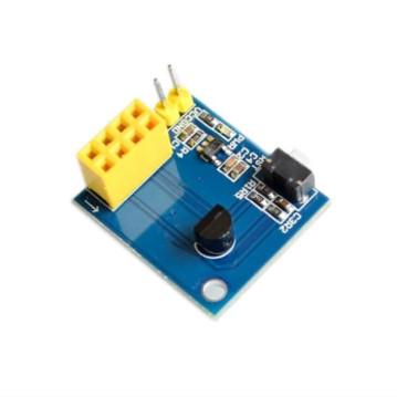 Foto Produk [6-C9] ESP8266 ESP-01 Shield ESP01 DS18B20 Temperature Module Sensor dari RAFTECH