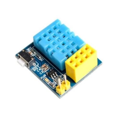 Foto Produk ESP8266 ESP-01 DHT11 Module Sensor Suhu Kelembaban Modul IoT dari RAFTECH