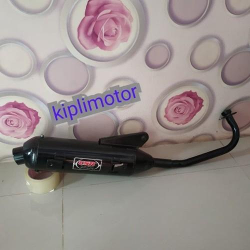 Foto Produk knalpot Racing bobokan model standar untuk Yamaha Mio smeal suara sugi dari Kipli Motor