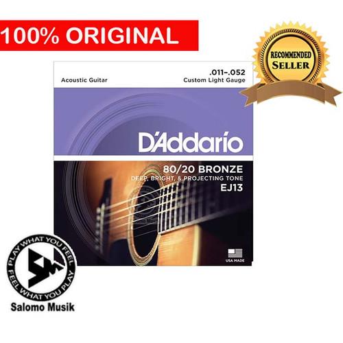 Foto Produk Senar Gitar Akustik Acoustic Daddario D addario D'addario EJ-13 dari Salomo Musik