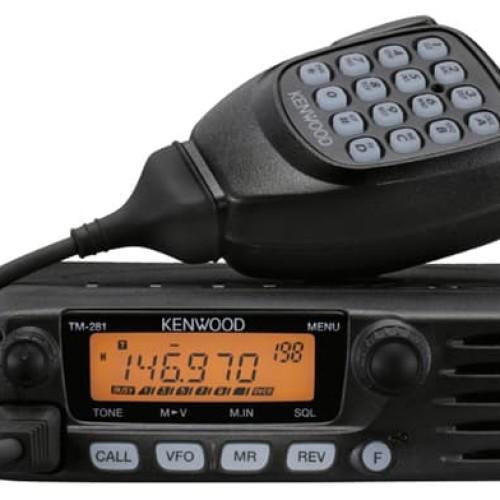 Foto Produk Kenwood TM-281A 2 meter FM mobile transceiver TM281 Rig Baru Garansi dari Hanika Communication