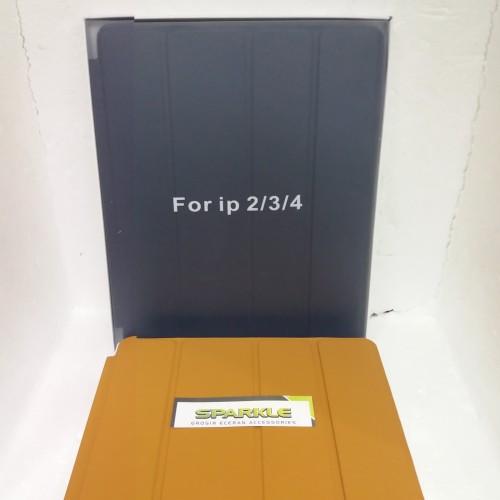 Foto Produk ORIGINAL IPAD 2 3 4 LEATHER SMART CASING STAND SOFT COVER CASE KULIT dari sparkle_shop