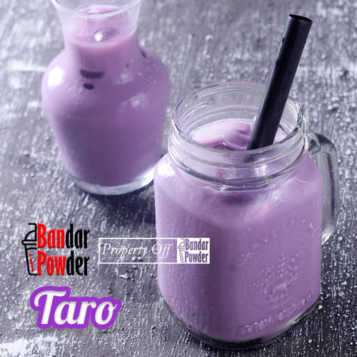 Foto Produk Taro Powder 500gr - Bubuk Minuman Ubi Ungu 500 gr Ice Bubble Drink dari Bandar Powder Tangerang