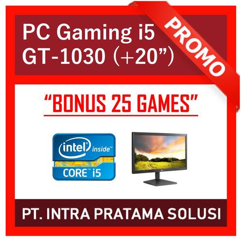 """Foto Produk PC Gaming Lengkap i5 + Nvidia + LED 20"""" (Siap Pakai + Bonus Games) dari PT. Intra Pratama Solusi"""