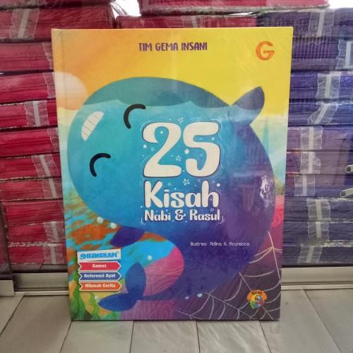Foto Produk Buku anak, 25 Kisah Nabi dan Rasul - Hard Cover dari ALIDA