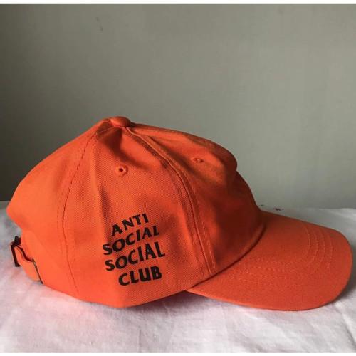 Foto Produk Topi Anti Social Social Club Orange Original ( ASSC CAP ORIGINAL 100%) dari Hypebeast abis store