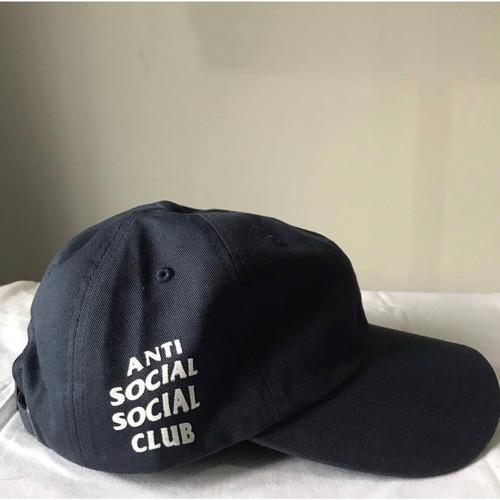 Foto Produk Topi Anti Social Social Club Navy Original ( ASSC CAP ORIGINAL 100%) dari Hypebeast abis store