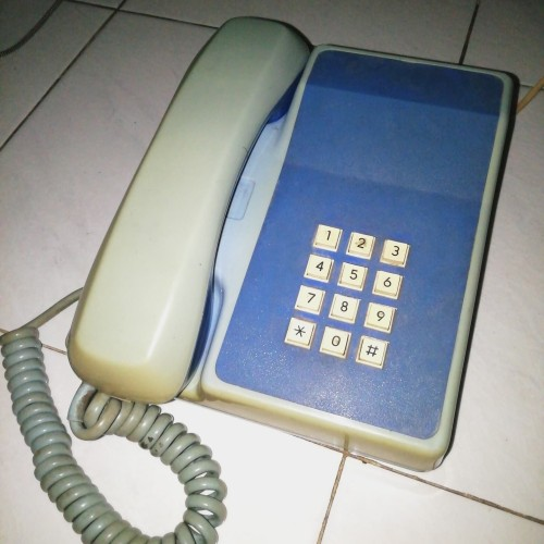 Foto Produk Telepon Tombol Jadul dari Double-R