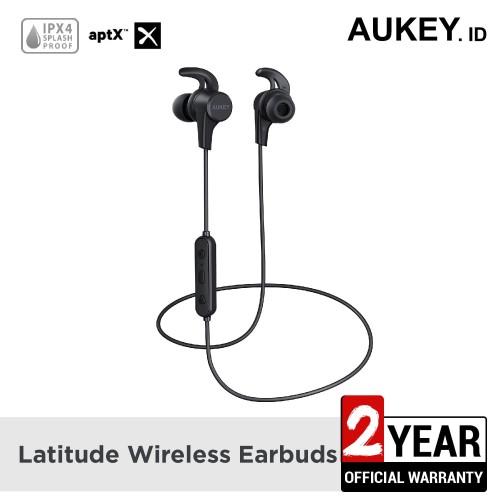 Foto Produk Aukey Headset Bluetooth Sport Earbuds, APTX - 500300 dari AUKEY