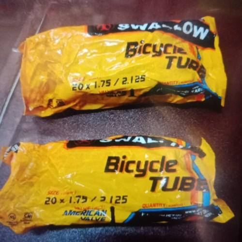 Foto Produk Ban dalam sepeda lipat 20 x 175 2125 Swallow dari JB Shop 1