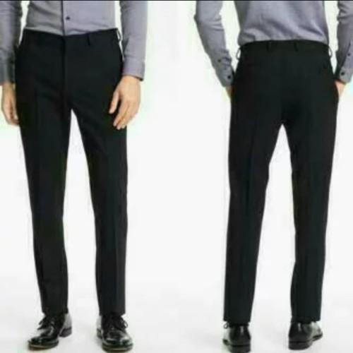 Foto Produk Celana bahan   kain   Formal kantor   Slim fit   Pria dari JC Official Store