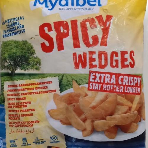 Foto Produk Kentang Wedges Enak Impor Berkualitas Langsung Goreng, kemasan 2,5 kg dari Frozen Foods Bandung