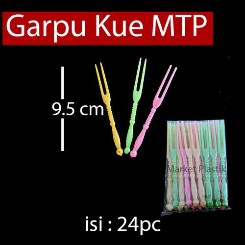 Foto Produk Garpu Kue MANTAP/Garpu Plastik/Garpu Ulang Tahun 24pcs dari MarketPlastik