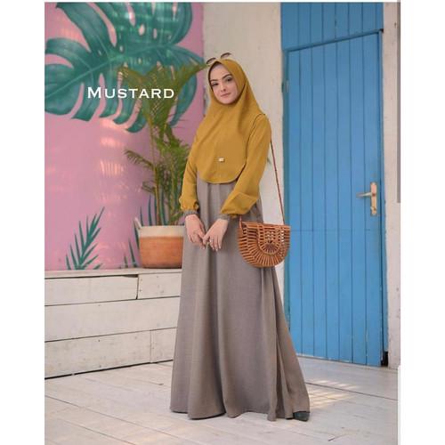 Foto Produk Baju Gamis Wanita Terbaru Mawar Syari Setelan Muslim Murah Terbaru dari HAFIZAH HIJAB