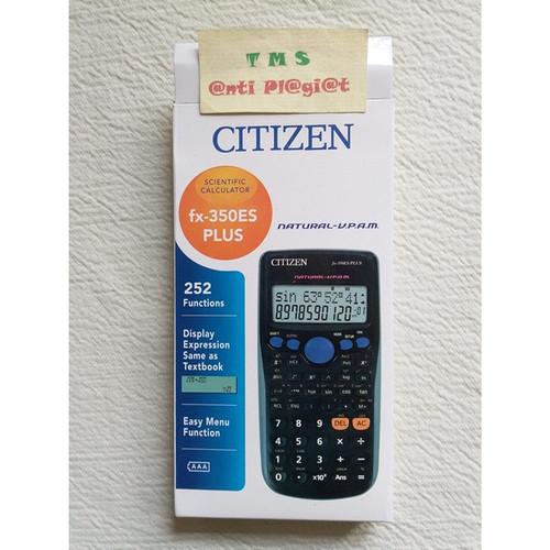 Foto Produk Kalkulator Ilmiah Scientific Citizen fx-350ES Multi Guna dari TriMedia Shop