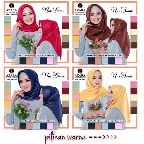Foto Produk Jilbab Segi Empat Sinar Glamour Kerudung Shinar Shimmer dari Pusat Aneka Grosir