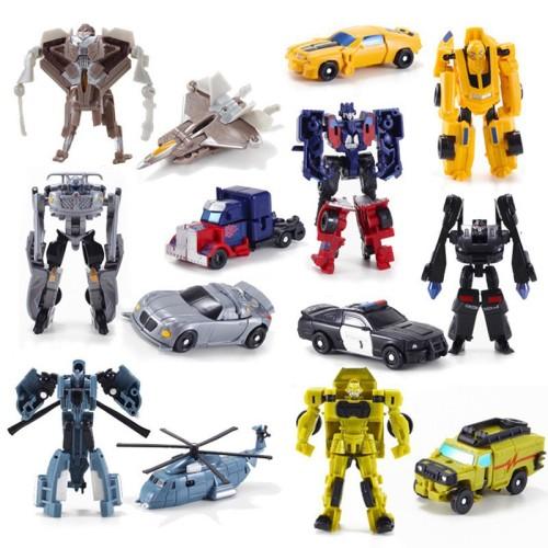 Foto Produk Transformers toy 3C mini deformation robot 7 small deformation model dari Random Shop O