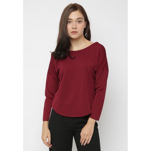 Foto Produk Cammomile Blouse fashion atasan Wanita SP1804035 - RED, S dari Cammomile FashionLine