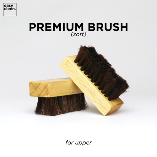 Foto Produk Premium Shoe Brush (Soft) for Upper | Sikat Pembersih Sepatu Cleaner dari Easy Cleen Official
