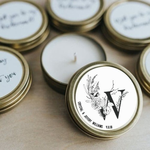 Foto Produk Souvenir unik & lucu - Kaleng Lilin DIY dari Dzy Art