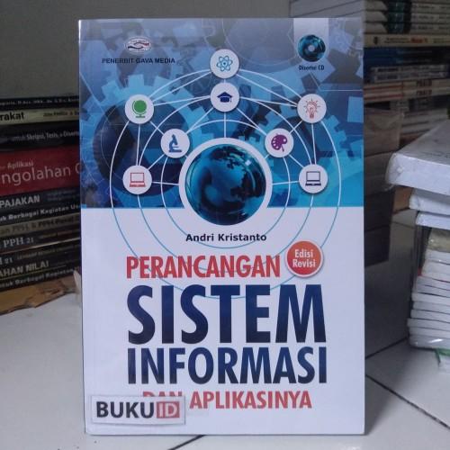 Foto Produk Buku Perancangan Sistem Informasi dan Aplikasinya - Edisi Revisi dari Buku ID