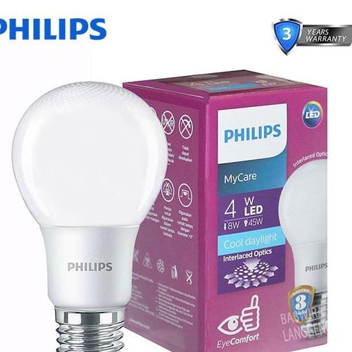 Foto Produk Philips Led Bulb 4 Watt E27 - Putih dari Terang Terus Yogya