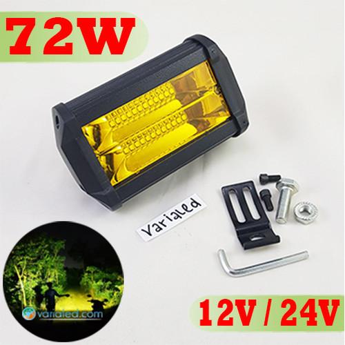 Foto Produk Lampu Sorot KUNING 72W LED 12V 24V Nyala Nyebar Ke Samping Work Light dari variaLED