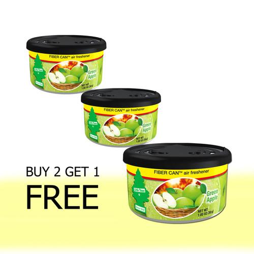 Foto Produk Buy 2 Get 1 FREE Little Trees Fiber Can Green Apple dari LITTLE TREES INDONESIA