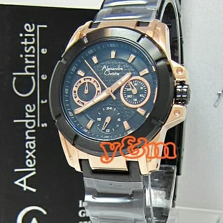 Foto Produk jam tangan wanita Alexandre christie original AC 6226 BF dari union collection