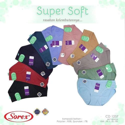 Foto Produk Celana Dalam CD Wanita Super Soft Sorex 1257 - M dari Kiddos First