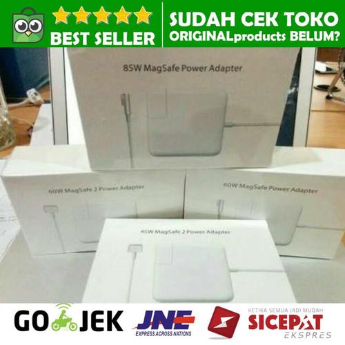 Foto Produk CHARGER MACBOOK PRO AIR MAGSAFE 2 85W 85 WATT ADAPTER ORIGINAL ADAPTOR - MAGSAFE 1 dari ORIGINALproducts JAKARTA
