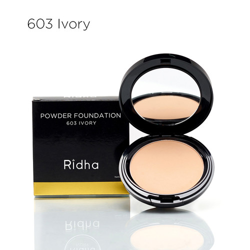 Foto Produk Powder Foundation 603 Ivory' Ridha Beauty dari RidhaBeauty