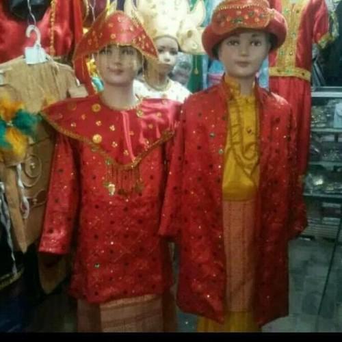 Foto Produk promo Good Seller Baju Adat Palembang - 4-10Th Cewe dari tokorezvanku