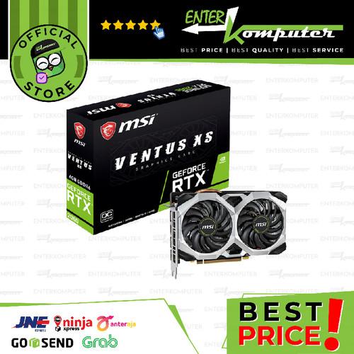 Foto Produk MSI GeForce RTX 2060 6GB DDR6 - Ventus XS 6G OC dari Enter Komputer Official
