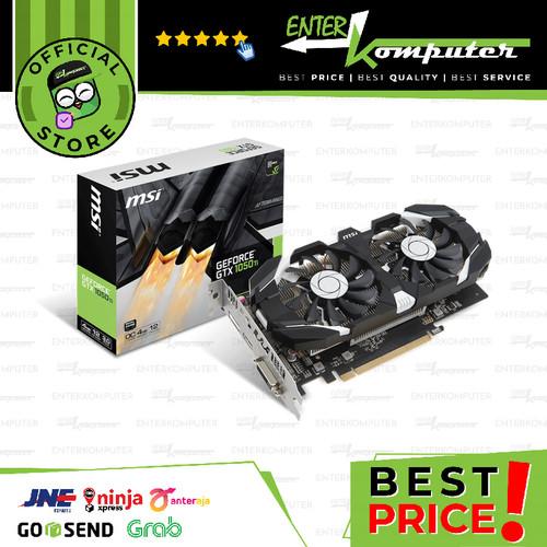 Foto Produk MSI GeForce GTX 1050 Ti 4GB DDR5 - 4GT OC dari Enter Komputer Official