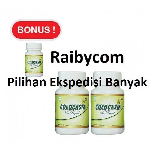 Foto Produk COLOCASIA Kapsul Penambah Cairan Lutut Sendi Herbal ORIGINAL Lejel dari Raibycom
