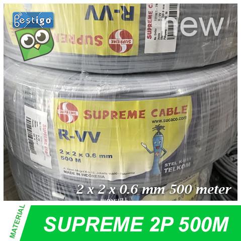Foto Produk Kabel Telepon Supreme 1 Pair 500 M dari BESTIGO PABX TELEPON
