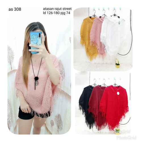 Foto Produk 308vb blouse rumbai, bs jdi outer dari Bless-Shopp