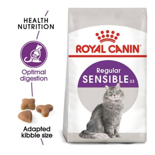 Foto Produk Makanan Kucing ROYAL CANIN SENSIBLE 33 2 KG dari Sandika Petshop