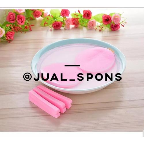 Foto Produk Spons Facial/Sponge Facial/Spons Kentang/Spons Wajah Murah Pink dari jual_spons