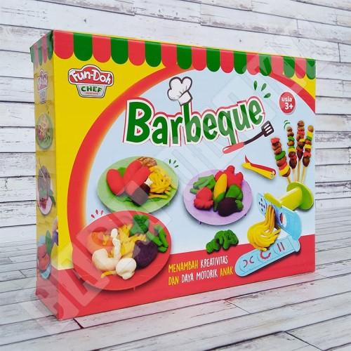 Foto Produk Fun Doh BBQ Barbeque - Lilin Mainan Anak FunDoh / PlayDoh / Play Doh dari Casa Unika
