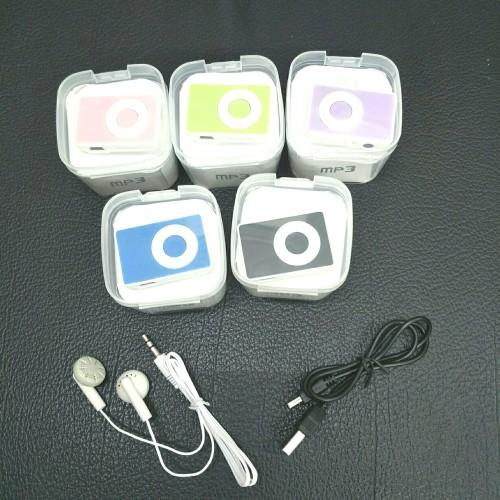 Foto Produk Mp3 Mini Music Player iFOX / Mp3 Jepit Shuffle Slot Memory Micro SD dari Jess grosir accessories