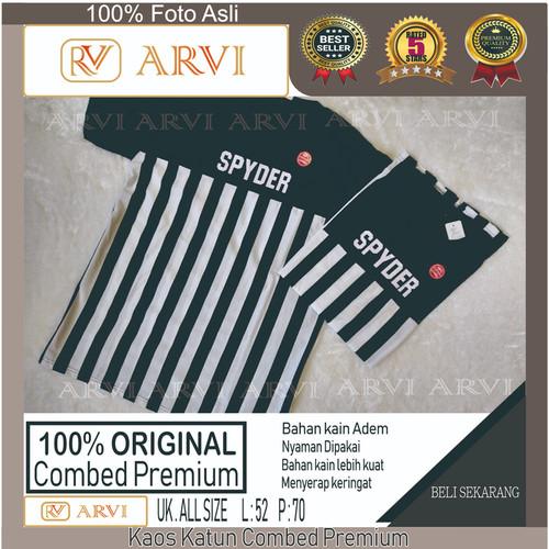 Foto Produk Tshirt T-shirt Baju Pria Kaos 100% Original Katun Premium Spyder dari Brune Mart