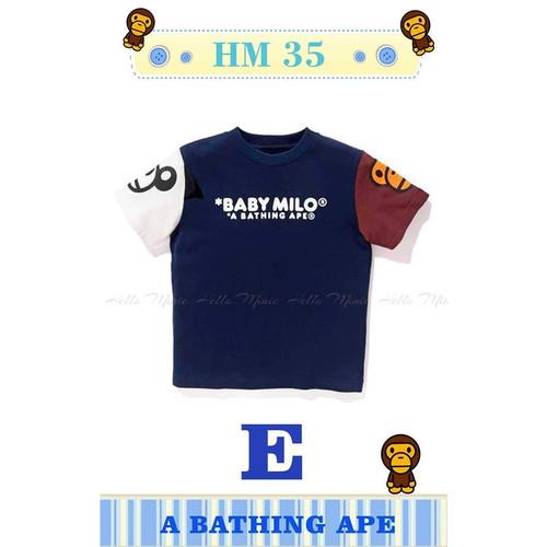 Foto Produk Tshirt BAPE E - Kaos Bape Anak Laki-Laki I mport - 9years dari blessbabykids