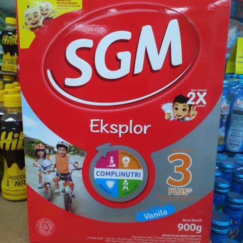 Foto Produk SGM Eksplor 3+ Vanila 900gr dari TokoSUSUMERUYA