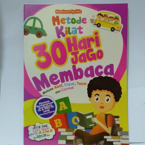 Foto Produk Buku Anak - Metode Kilat 30 Hari Jago Membaca Usia 3-5 tahun dari Toko Buku dan Stationery