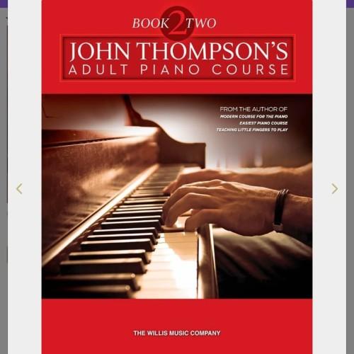 Foto Produk JOHN THOMPSON'S Adult Piano Course Book 2 Buku belajar piano dewasa dari WoodenBox